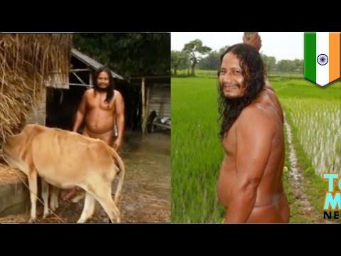 Petani india telanjang selama 40 tahun - Tomonews