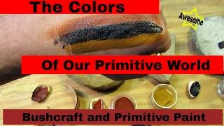 Color of Our Primitive World:  natural pigment paint