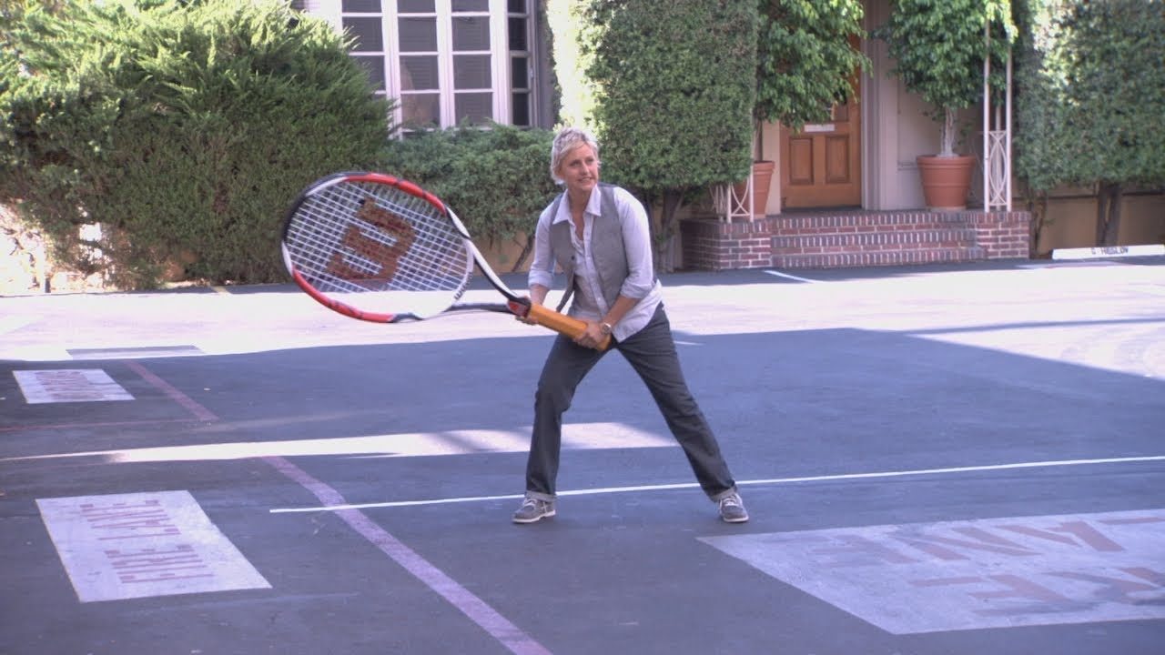Ellen and Serena Williams Show What Crazy Can Do