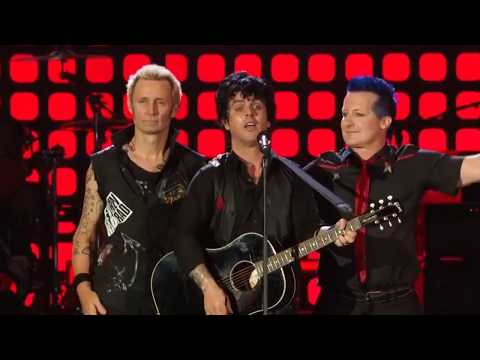 Green Day - Good Riddance (Time Of Your Life) - Global Citizien Festival 2017 HD