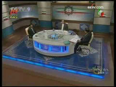 Iran election debate on TV: Mousavi, Ahmadinejad - 09 Jun 09