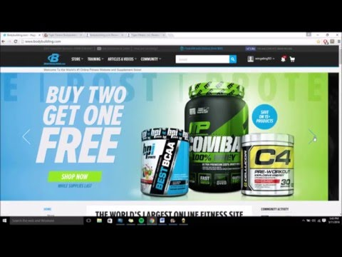 Supplement Information Episode 1: Bodybuilding.com VS Tigerfitness.com