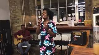 "India Arie ""God is Real"" (Acoustic Cover) by Elizabeth Vincent"