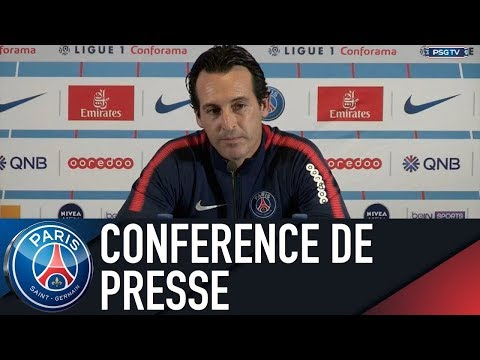 Paris Saint-Germain press conference ANGERS vs PARIS SAINT-GERMAIN