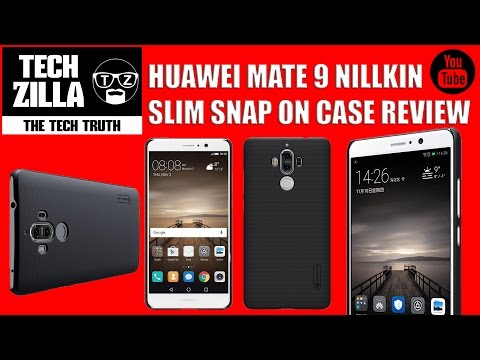 Huawei Mate 9 Nillkin Frosted Shield Case Review