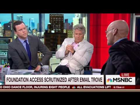 James Carville: Of Course The Clinton Foundation Should Not Have Taken Foreign Donations