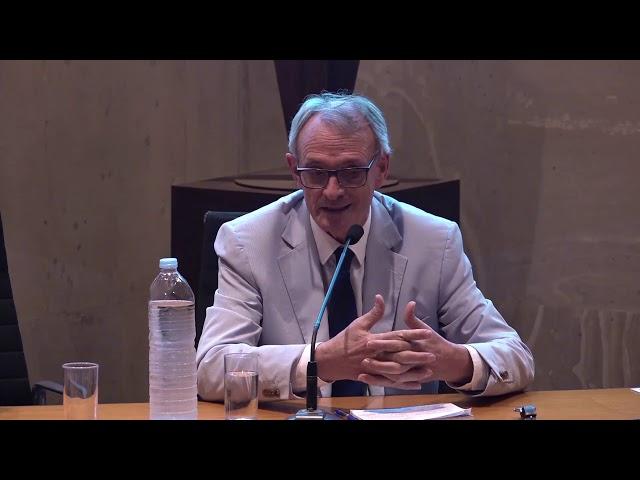 Intervención de Antón Costas en Foroe: