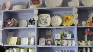 ceramicafe art lounge del mar highlands town center carmel valley san diego 92130