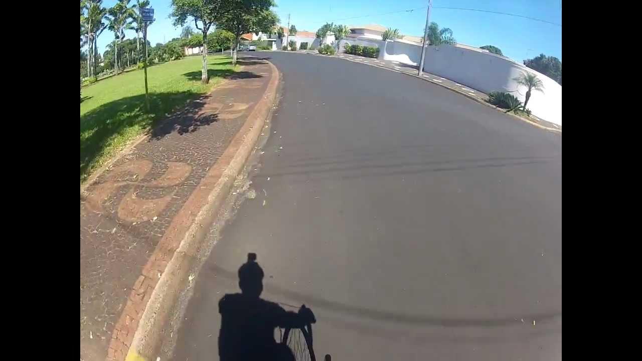 Pedalando em Santa Rita do Passa Quatro GoPro HD parte 3