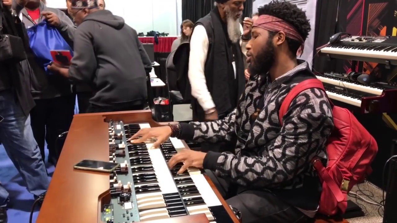 Cory Henry | plays the Hammond XK5 | Boogie On Raggae Woman