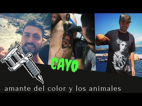 Cayo|tattoo artist|amante de los animales a full color