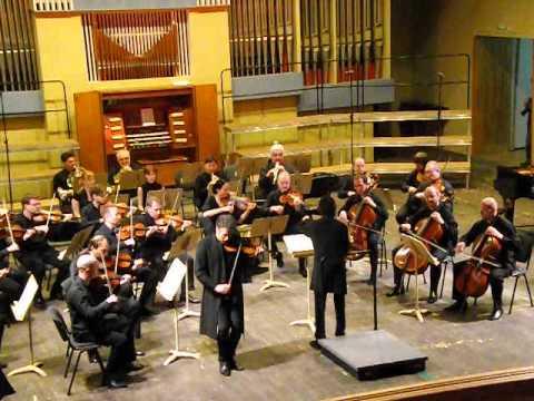 Kelemen Barnabas & Moscow Soloists - Mozart. Violin Concerto No.3 (Allegro)