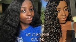 My Curly Hair Routine: How I Define My Juicy Curls 💦 Ft Cherry Pop Hair| Young Africana