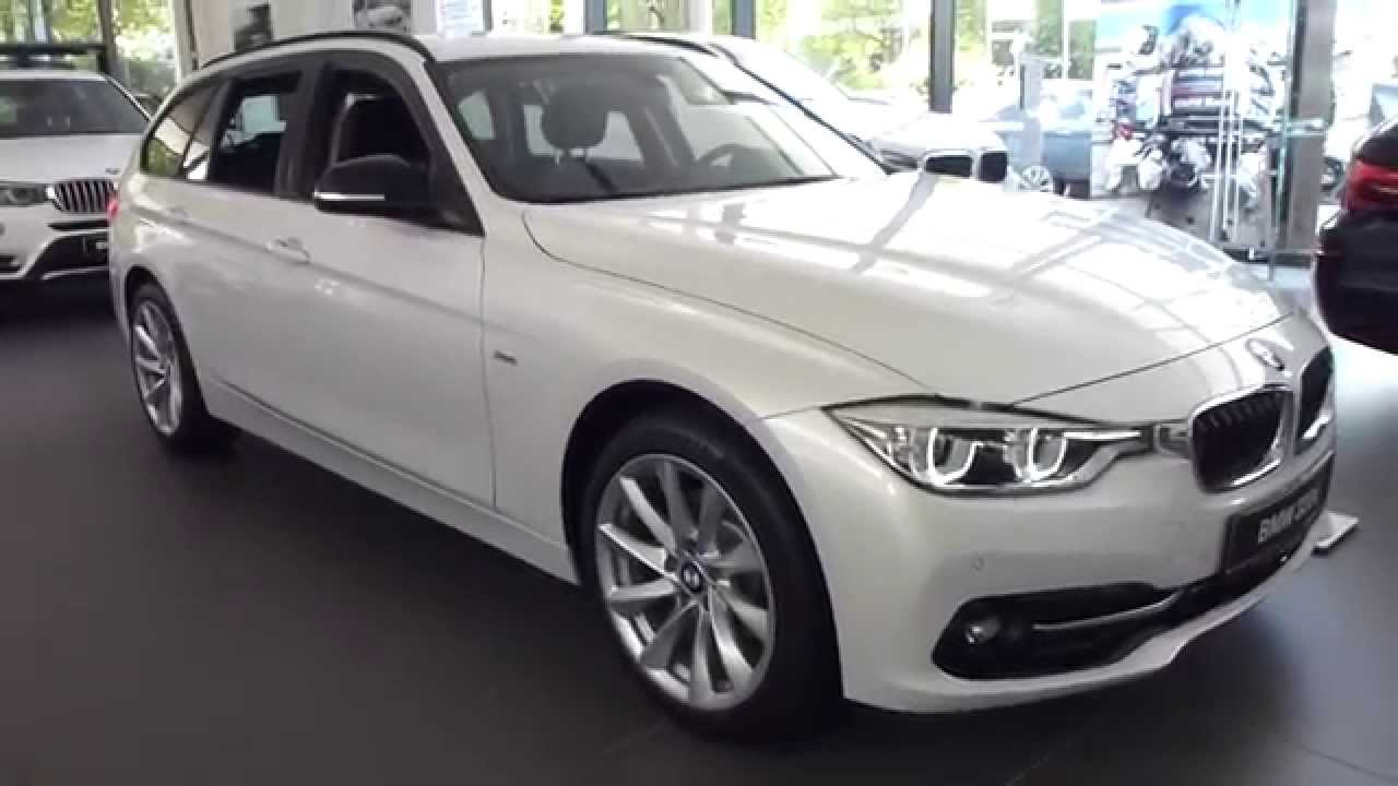 2015 bmw 320d 39 39 sport 39 39 touring exterior interior 190 hp 230 km h 142 mph playlist youtube. Black Bedroom Furniture Sets. Home Design Ideas