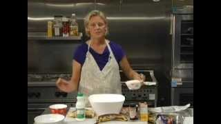 Cooking Show With Rebecca Fliszar: Banana Blueberry Bread And Chocolate Chip Yogurt Cookies #79