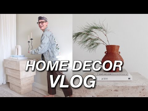 HOME DECOR HAUL, LUXURY AMAZON CURTAINS, RARE VINTAGE DECOR, HOME STYLING FOR INSTAGRAM