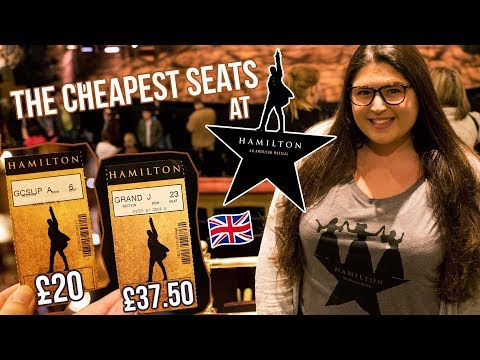 The CHEAPEST Seats at HAMILTON West End/London 🌟 REVIEW (Rukaya Cesar)