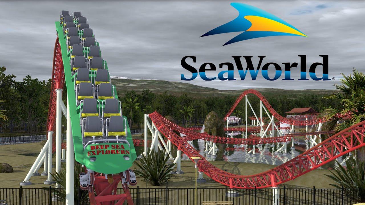 New Roller Coaster 2020 SeaWorld Orlando NEW 2020 Intamin Launch Coaster PREDICTION   YouTube