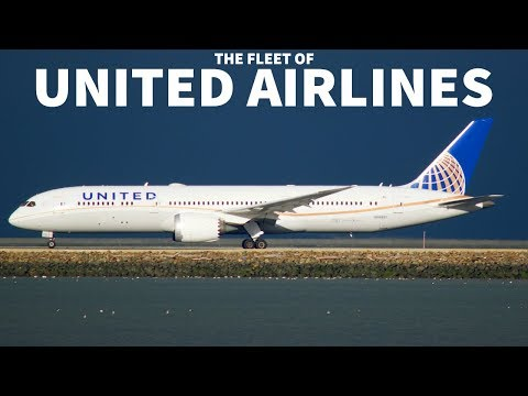 The United Airlines Fleet