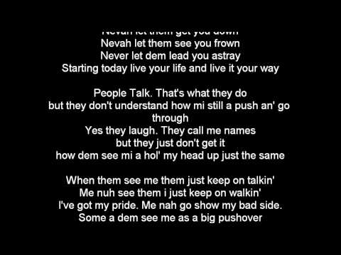 Etana People Talk Lyrics