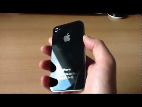 IPhone 4s 16 GB Black Hands On German