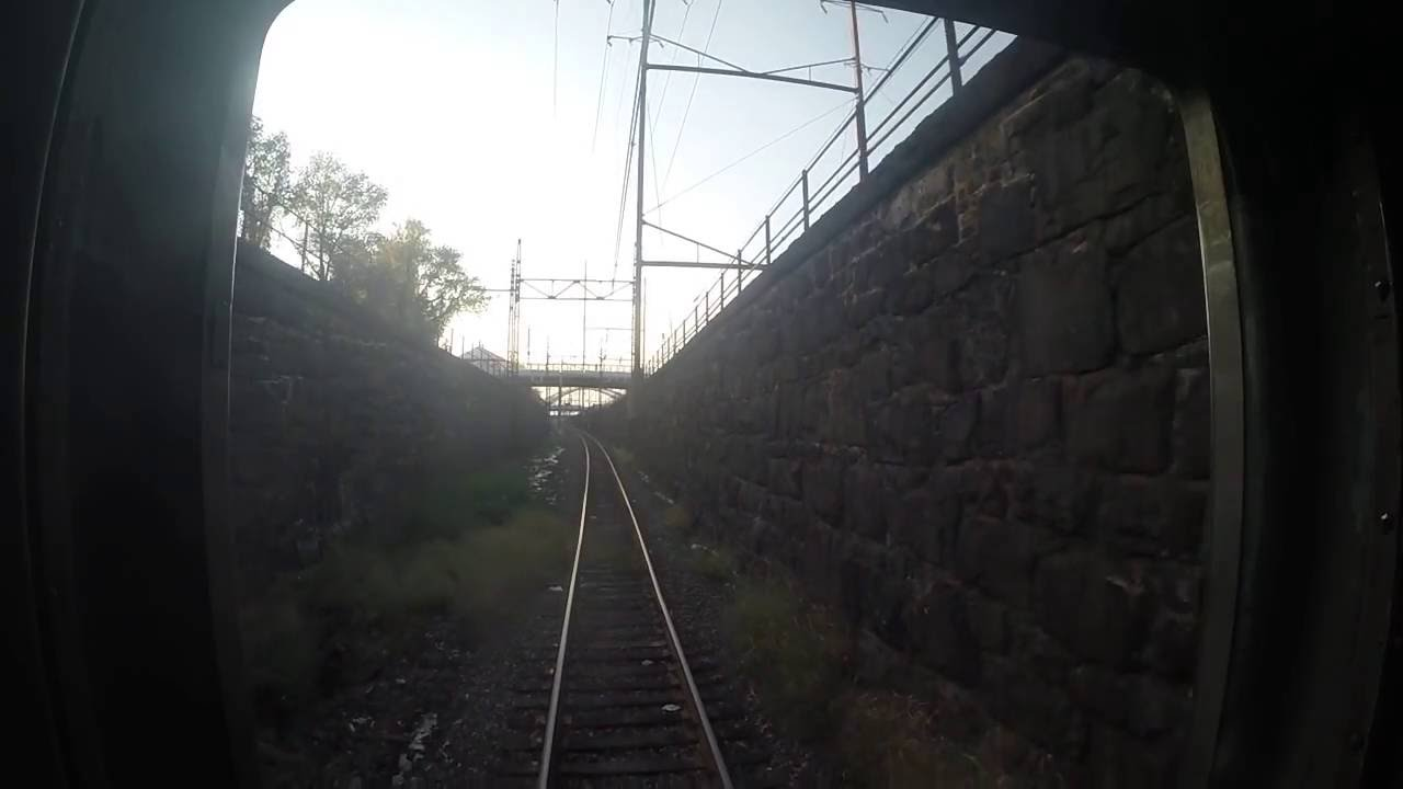 Amtrakprr New York Pittsburgh Subway Eastbound Rear View Gopro