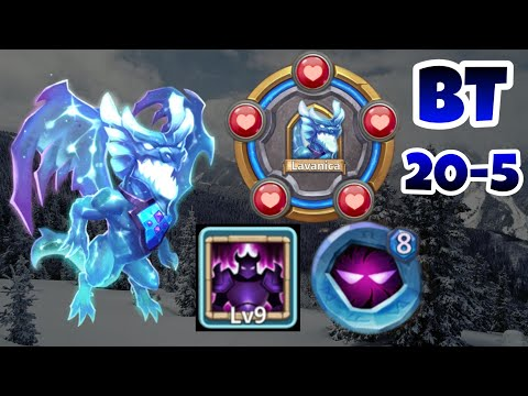 Lavanica | Level 20 BT | 9/9 Wicked Armor | 8 Up Insingia | GamePlay | Castle Clash