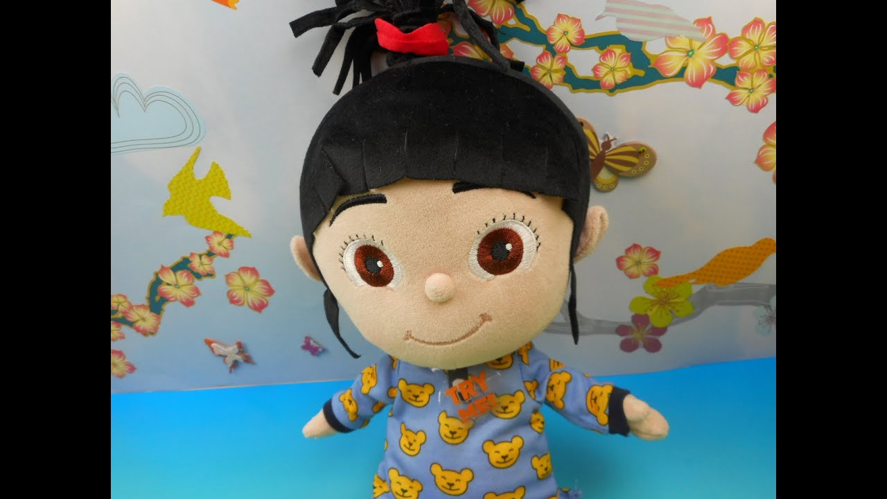 Toys For Bedtime : Despicable me bedtime agnes with light up slippers kids