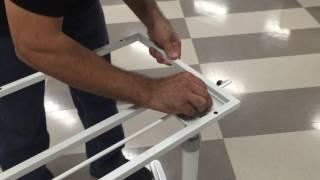 Sierra Height Adjustable Desk Assembly Part 2