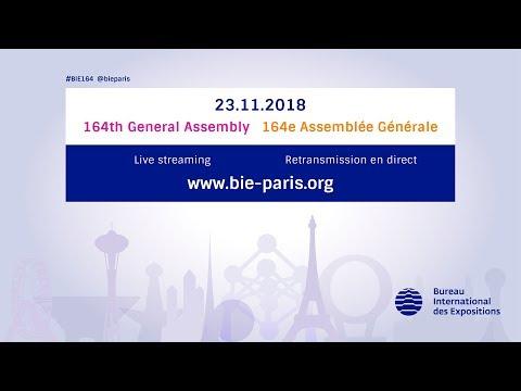 164th General Assembly of the BIE | 164e Assemblée Générale du BIE