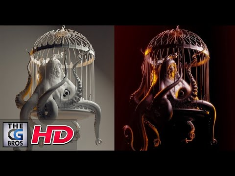 "CGI 3D Modeling HD: ""The Making of the ""Evil Octopus"" by - Lightfarm Studios"