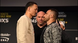 UFC 245: Holloway vs Volkanovski - Preview
