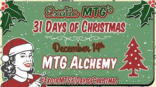 31 Days Of Christmas with ExoticMTG and 31 other Content Creators | Magic the Gathering | Giveaway
