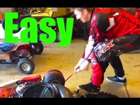 Easiest Way to Start Shifter Kart