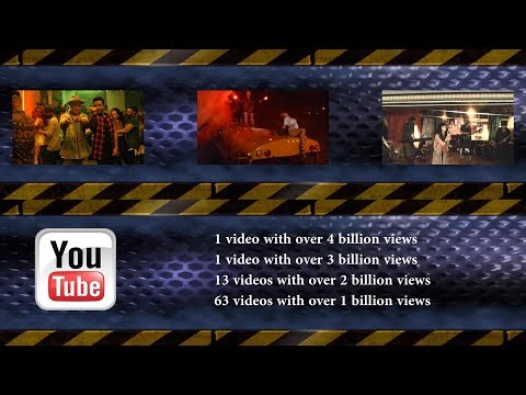 Youtube Top 100 Most Viewed Songs Of All Time 14 October 2017  № 19