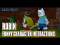 LEGO Dimensions Robin Funny Lines & Character Interactions - LEGO Batman Movie Story Pack