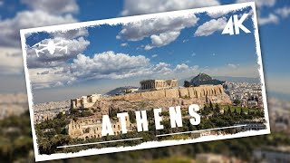 Flying over Athens | Cinematic aerial film in 4K