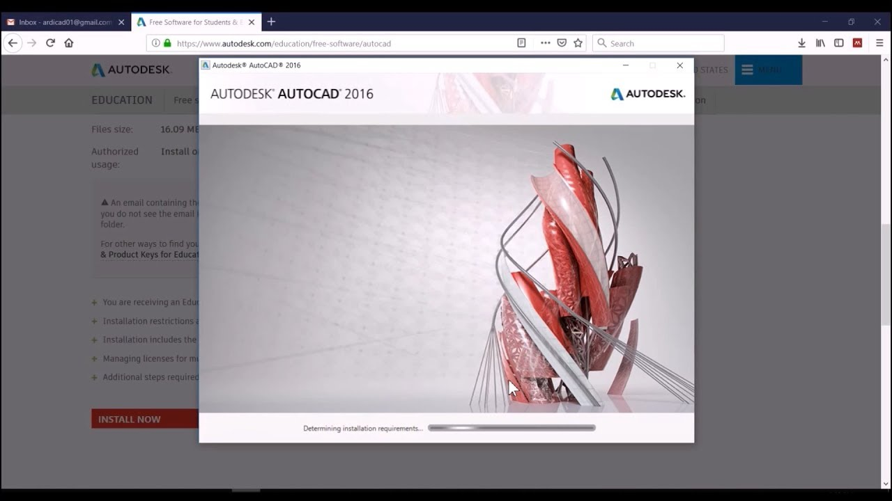 How To Register Or Activate Educational License And Free Install Autodesk Autocad