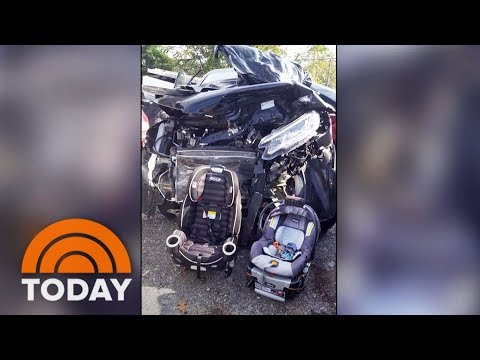 Mom's Viral Photo After Crash Shows Why Kids' Car Seats Are So Important | TODAY
