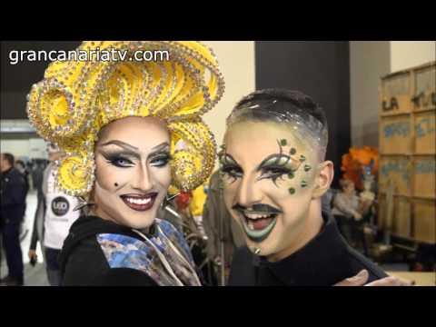 Backstage preselecci n drag queen carnaval las palmas de - Gran canaria tv com ...
