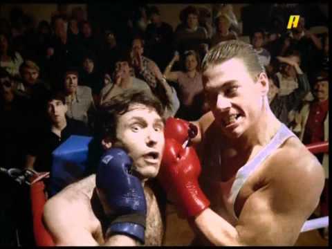 No Retreat No Surrender, 1986. Final fight scene. Jean-Claude Van Damme