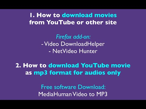 How To Download YouTube Movie Or Mp3 Audio Format Using Firefox