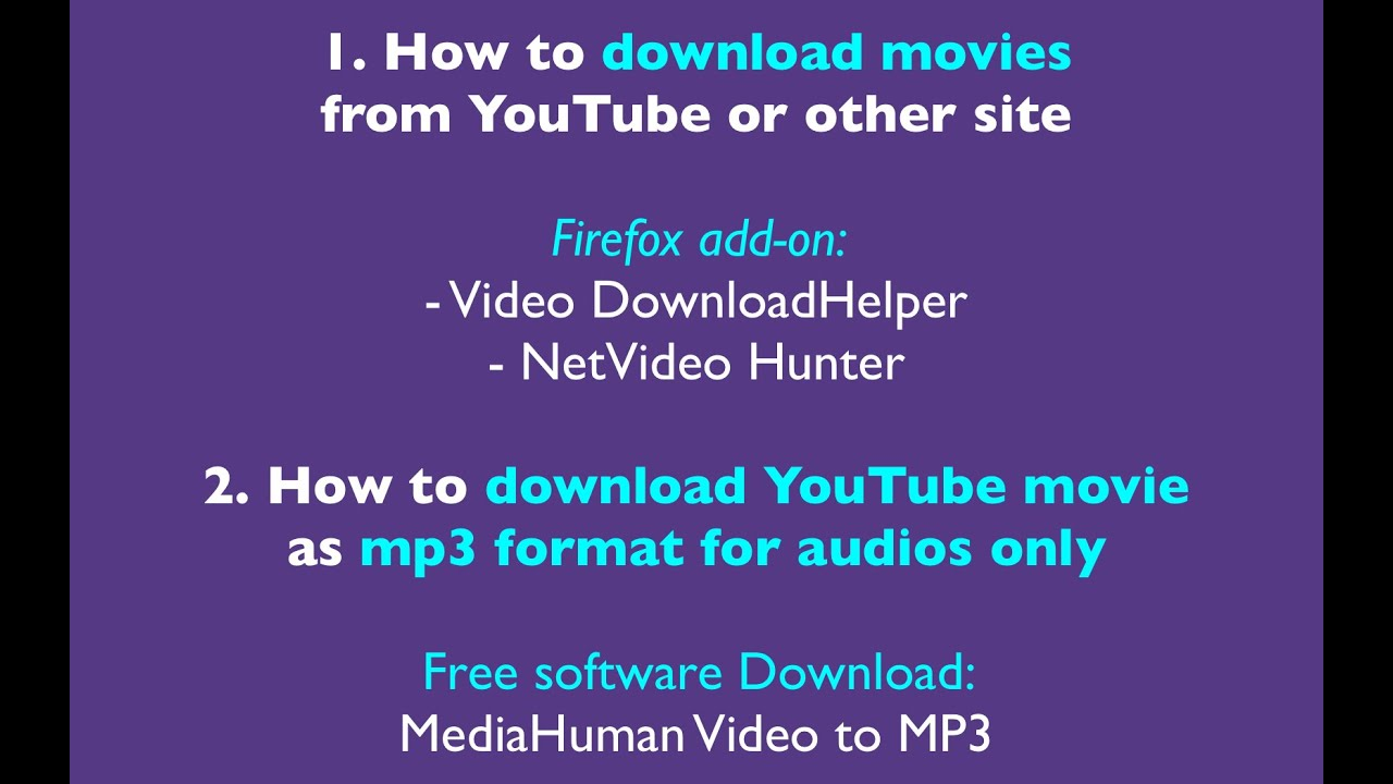 youtube download to mp3 firefox