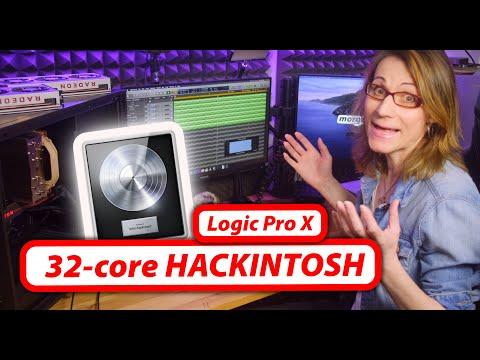 AMD Threadripper 32-core HACKINTOSH - Logic Pro X Performance