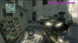 MW3 MSR QuickScoping M.O.A.B + 36 Killstreak (Modern Warfare 3 Multiplayer)