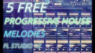 5 FREE Progressive House Melodies (FL Studio 12) [by Jani]