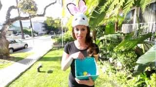 The Bunny Bandit Easter Prank! (Creepiest Easter Bunny Ever!) Thumbnail