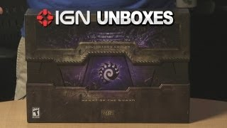 IGN Unboxes StarCraft II: Heart of the Swarm Collector