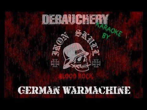 IRON SKULL - German Warmachine (Debauchery Karaoke)
