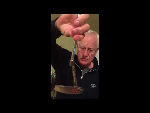 Dr. Terry's putter Collection and reviews his Olympian putting system
